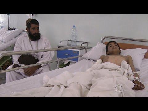 Doctors Without Border blames U.S. for deadly strike on Afghan hospital