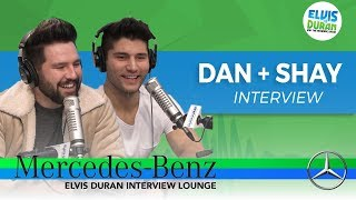 Video Dan + Shay Drink Tequila with Elvis Duran | Elvis Duran Show download in MP3, 3GP, MP4, WEBM, AVI, FLV January 2017