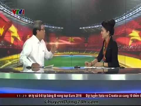 Chuyển động 24h của VTV tiếp tục theo vụ Công Phượng với nhà báo Huy Thọ ngày 17/11/2014
