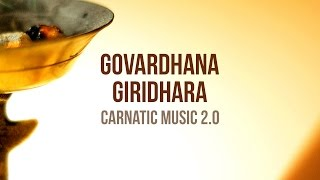 Govardhana Giridhara - Carnatic Music FusionGovardhana Giridhara is a Carnatic Composition, written by Sri Narayana Teertha (1650 – 1745). This musical fusion of the song with Electronic Dance Music is an attempt to present Carnatic Music in a contemporary fashion, that would be appealing to young and modern audiences. It features the very talented guitarist Sri Vaths.Available on iTunes - http://itunes.apple.com/album/id1108646289?ls=1&app=itunesAvailable on Bandcamp - https://mahesh-raghvan.bandcamp.com/Also available for streaming on Spotify and Saavn.Credits and Social Media Links:Mahesh Raghvan (Vocals and Music Production): Facebook - https://facebook.com/followingmaheshTwitter - https://twitter.com/followingmaheshMusic - http://www.carnaticmusicfusion.comSri Vaths (Guitarist):Soundcloud - https://soundcloud.com/sri83Tharun Joseph (Video Production)Vimeo - http://vimeo.com/tharunjosephWebsite - http://www.tharunjoseph.comSupported by: iShrutiBox (Electronic Tanpura for iOS Devices)Digital Partner: Silly Monks