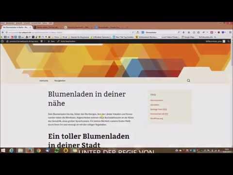 WordPress (CMS) Onpage Suchmaschinenoptimierung (SEO) - Deutsch / German - Platz 1 bei Google