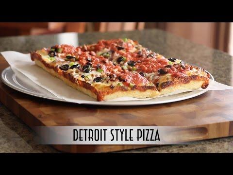 Detroit Style Pizza | Poolish Method