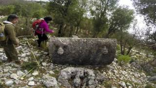 From seat of the Dynasts to the seat of the Oracle.  A normal journey along the Lycian Way.