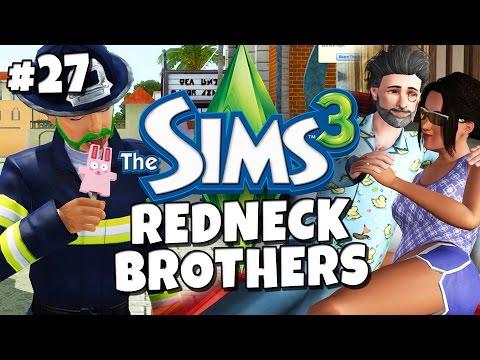 Sims 3 - Redneck Brothers #27 - Odin's Kitchen