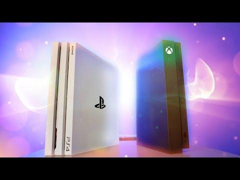Xbox One X vs PS4 Pro