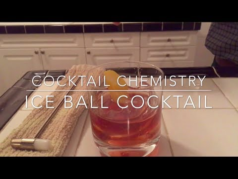 COOL PARTY TRICK: How to make a cocktail inside a ball of ice (MUST SEE)