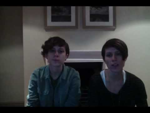Tegan and Sara - Announcing NY! Letterman! Heartthrob Release Date!! [Extra]