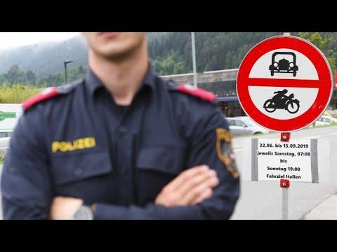 Österreich: Tiroler Polizei greift durch - kein Trans ...