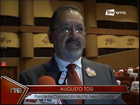 Insignias del orgullo ecuatoriano corporación Mucho Mejor Ecuador