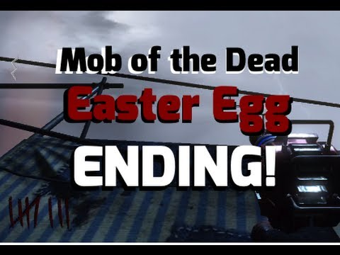 Mob Of The Dead | EASTER EGG ENDING! | BO2 Zombies