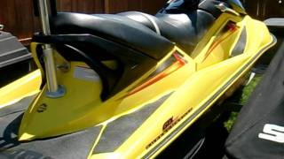 6. 2004 Sea Doo GTX SC Supercharged 72 hours