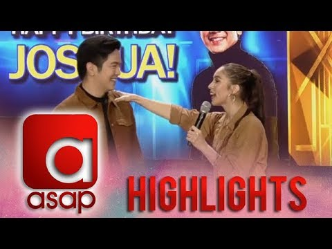 Birthday messages - ASAP: Julia's birthday message for Joshua will give you kilig overload