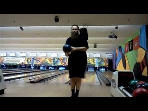 See how this guy sets a new bowling record - amazing!
