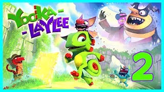 Welcome to my 2nd video for the awesome game Yooka-Laylee in this episode I aim to get my next pagie and also maybe get some brand new abilities. Subscribe here for more Gaming Videos: http://goo.gl/JnMm2v.Don't forgot to click that notifications bell so you know when my next video is live  I Stream so come join The Barking Mad Society: https://mixer.com/krlbarkerhttps://twitch.tv/krlbarker Fancy spying on what I'm doing lately join my Twitter: https://twitter.com/KrlBarkerWant to stalk me on Xbox One well here's my GT: KrlBarkerJoin my Club on Xbox One and have a Chat: Search KrlBarkerIntro Creator: Dopemotionshttps://www.youtube.com/channel/UCgvrz9ioKv89HMyg42z4pyQEdited By: KrlBarkerFor more templates, visit www.velosofy.com!Yooka-Laylee is an all-new open-world platformer from key creative talent behind the Banjo-Kazooie and Donkey Kong Country games!Explore huge, beautiful worlds, meet (and beat) an unforgettable cast of characters and horde a vault-load of shiny collectibles as buddy-duo Yooka (the green one) and Laylee (the wisecracking bat with the big nose) embark on an epic adventure to thwart corporate creep Capital B and his devious scheme to absorb all the world's books… and convert them into pure profit!Using their arsenal of special moves, our heroes will tackle a huge variety of puzzles and platforming challenges in their search for Pagies, the golden bounty used to unlock — and expand — stunning new worlds, each jammed to the gills with oddball characters, hulking bosses, minecart challenges, arcade games, quiz shows, multiplayer games… and much more!Yooka-Laylee was funded on Kickstarter in June 2015, raising an incredible £2.1 million from more than 80,000 backers. Yooka-Laylee remains the most funded UK games Kickstarter ever.