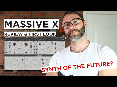 Massive X Review & First Look - VST Synth Of The Future?