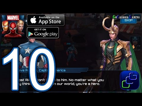Marvel Future Fight Android iOS Walkthrough – Part 10 – Chapter 2 ELITE: Stages 1-4