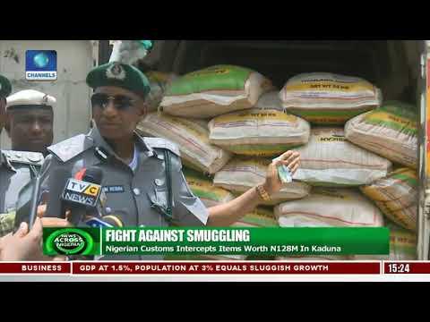 Nigerian Customs Intercepts Items Worth N128m In Kaduna
