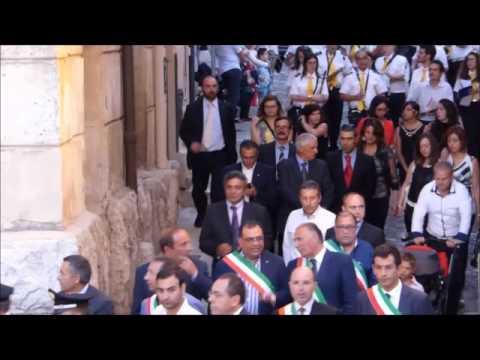 Processione del 2 Luglio 2015 - Arrivo in Chiesa.