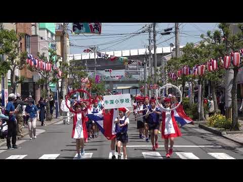 牛深小学校 @牛深ハイヤ祭り(マーチングパレード) 2018-04-21T13:15
