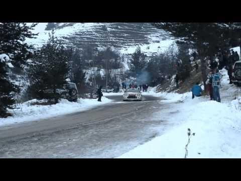 Sebastien Loeb - wypadek - Rajd Monte Carlo