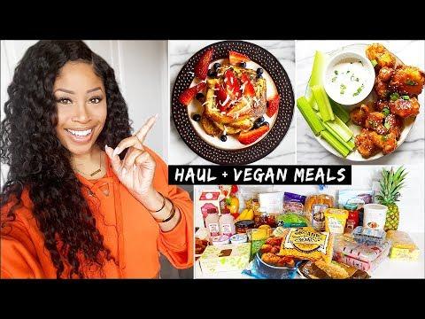 HUGE Trader Joe's Grocery Haul + VEGAN Meal Ideas!