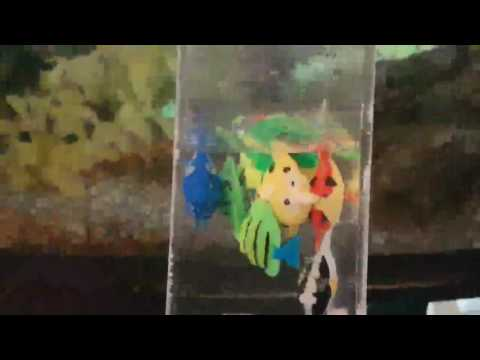 UEETEK 10 PC künstliche Aquarium Fisch Verzierung für Aquarium Fisch Behälter Dekoration