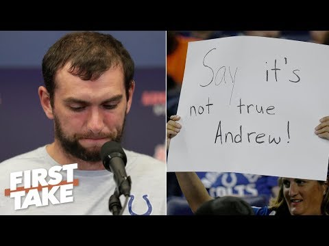 Video: Andrew Luck will be remembered for retiring early – Stephen A. | First Take
