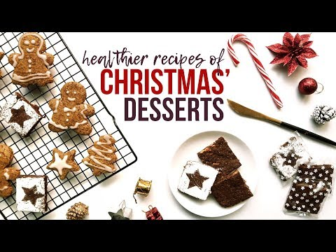 Resep Low-fat Dessert CHRISTMAS: Sweet Potato Brownies & Gingerbread Oat Cookies - Shiely Venessa