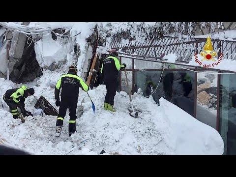 Στο έλεος των σεισμών η Ιταλία