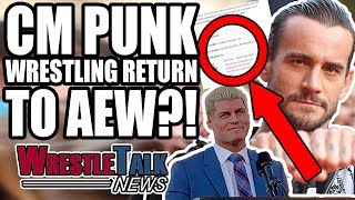 CM Punk To AEW?! Vince McMahon UPSET With WWE RAW!  | WrestleTalk News Jan. 2019