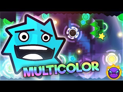 "MULTICOLOOOOOOOOOR - ""Distinctive"" [DEMON] By JerkRat [GD 2.11] 