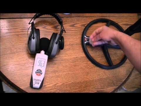 XP Deus Wireless Gray Ghost Headphones & CP6 Headphones