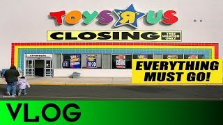 Video VLOG #6: My ToysRus has a Closing Sale! MP3, 3GP, MP4, WEBM, AVI, FLV Maret 2018