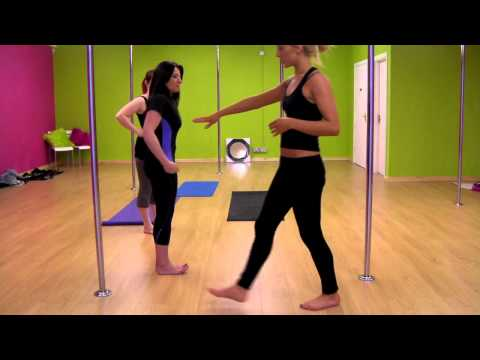 Twirlfit Bangor – Beginners pole fitness lesson