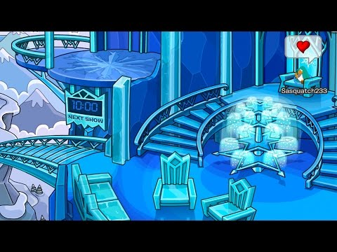 Club Penguin: Early Access to Queen Elsa's Ice Palace