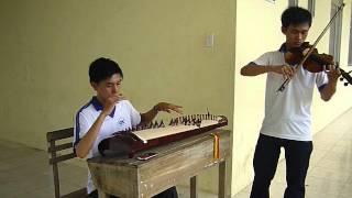 Lòng Mẹ (Hòa Tấu) - Trịnh Tiến (violon) Ft Tài Linh (đàn Tranh)