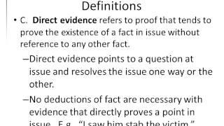 Gary Sokolow AJ6 Intro to Evidence 08302012