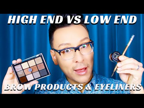 Drugstore VS. High End Beauty Products for Eyes & Brows Pt. 4 - mathias4makeup