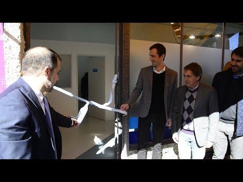 Petrecca y Lorenzino inauguraron las nuevas oficinas de la OMIC y la delegación de la Defensoría del Pueblo