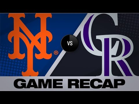 Video: Bats, Stroman lift Mets to 6-1 win over Rox | Mets-Rockies Game Highlights 9/17/19