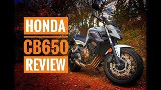 4. 2018 Honda CB650F Review