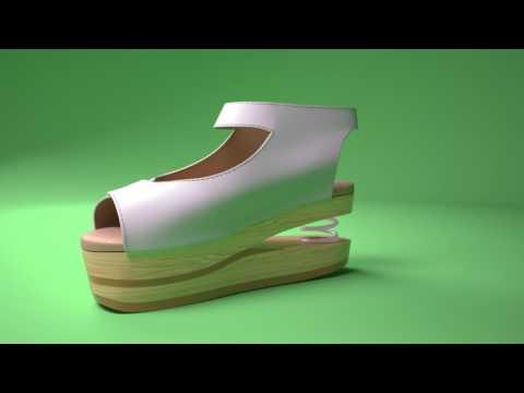 Morild Stil 24 Zapatos  3D model