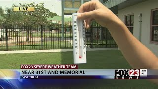 Why do meteorologists use shade temperatures