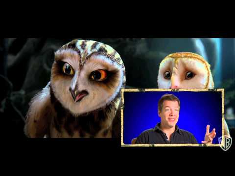 The Legend Of The Guardians: The Owls Of Ga'Hoole Actors Talk About Playing Owls