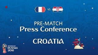 Video 2018 FIFA World Cup Russia™ - FRA vs CRO - Croatia Pre-Match Press Conference MP3, 3GP, MP4, WEBM, AVI, FLV Juli 2018
