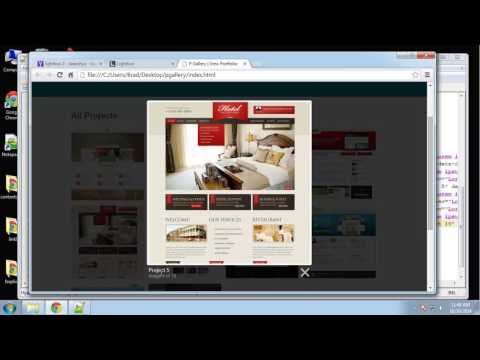 Learn how to create a responsive image gallery using jQuery Part - 5
