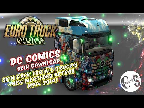 DC Comics Skin Pack for All Trucks