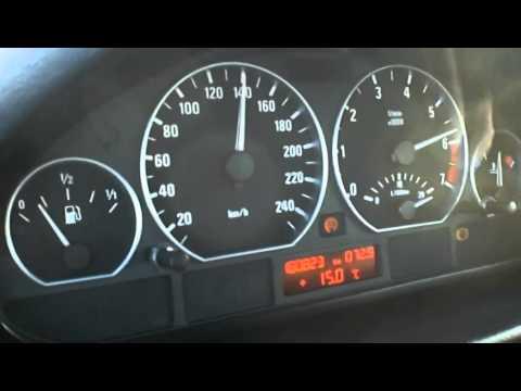 BMW 330i E46 acceleration