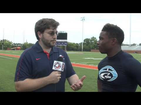 C-N Football: Antonio Wimbush post scrimmage interview