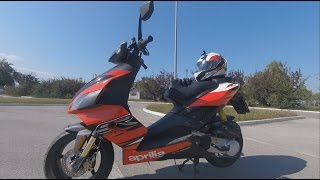 3. 2014 Aprilia SR 50 R - Test Ride